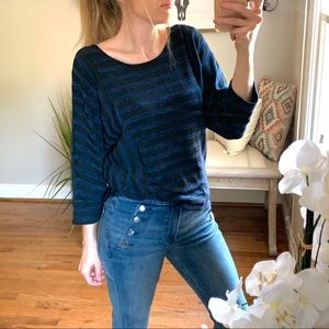 Carol Rose | Striped Slouchy Sweater